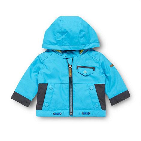 Baker by Ted Baker - Babies blue fleece lined jacket