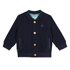 Baker by Ted Baker - Baby boys' navy twill bomber jacket