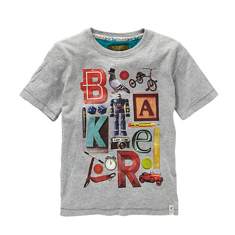 Baker by Ted Baker - Boy+s grey toys t-shirt