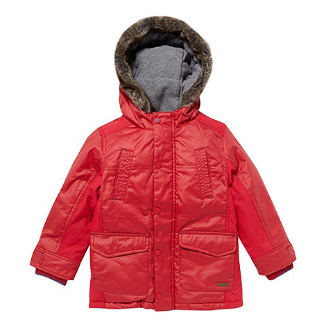Baker by Ted Baker - Boy+s red parka