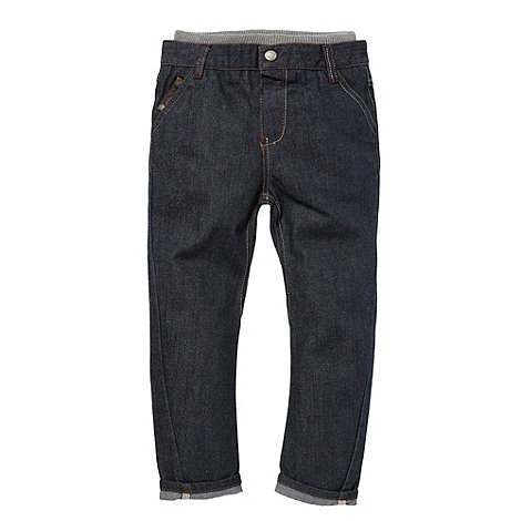 Baker by Ted Baker - Boy's blue rib waist jeans
