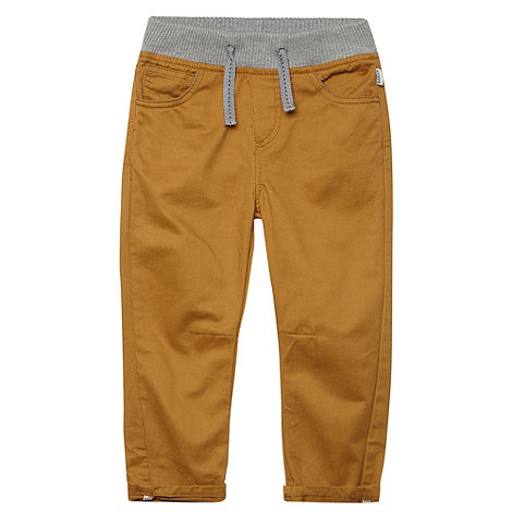 Baker by Ted Baker - Boy+s natural rib waist chinos