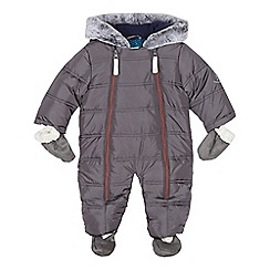 Baker by Ted Baker - Baby boys' dark grey snowsuit