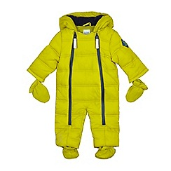 Baker by Ted Baker - Baby boys' lime green snowsuit