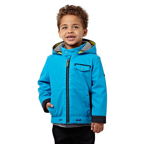 Baker by Ted Baker - Boy+s blue winter windcheater jacket