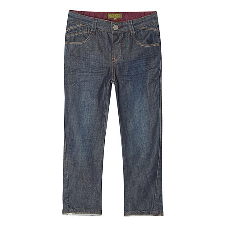 Baker by Ted Baker - Boy+s blue coated denim jeans
