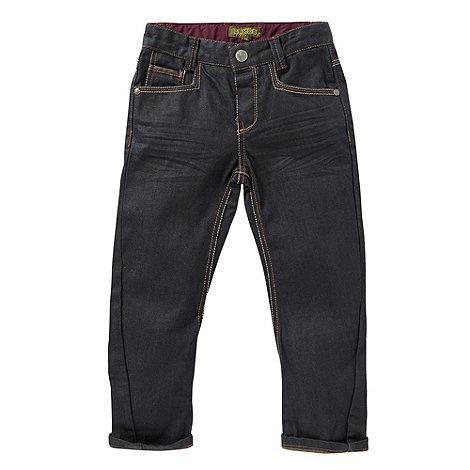 Baker by Ted Baker - Boy+s navy two tone jeans