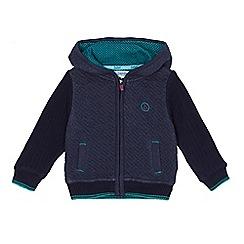 Baker by Ted Baker - Boys' navy knit insert jacket