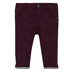 Baker by Ted Baker - Baby boys' dark purple chinos