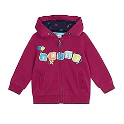 Baker by Ted Baker - Baby boys' purple zip through hoodie