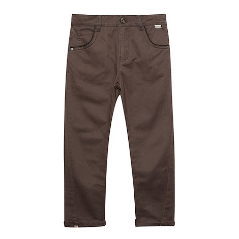 Baker by Ted Baker - Boy+s grey slim chinos