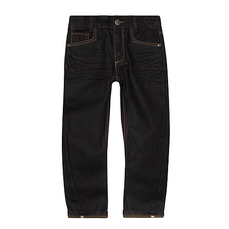 Baker by Ted Baker - Boy+s blue two tone jeans