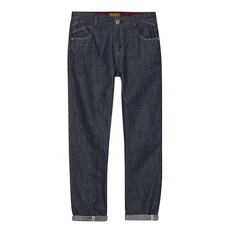 Baker by Ted Baker - Boy+s blue ribbed waist jeans