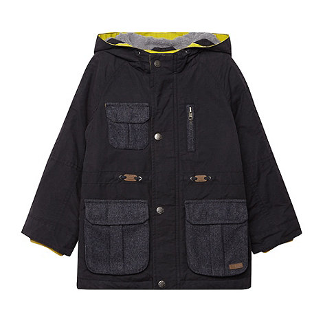 Baker by Ted Baker - Boy+s black fisherman jacket