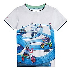 Baker by Ted Baker - Boys' white raccoon print t-shirt