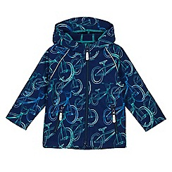 Baker by Ted Baker - Boys' navy bicycle print jacket