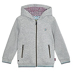 Baker by Ted Baker - Boys' grey quilted hoodie