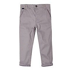 Baker by Ted Baker - Boys' grey dogtooth print chinos