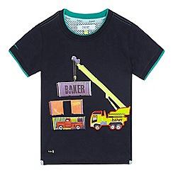 Baker by Ted Baker - Boys' navy truck applique t-shirt