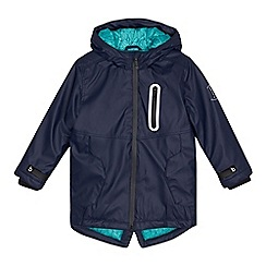 Baker by Ted Baker - Boys' navy mac coat
