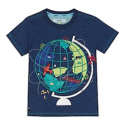 Baker by Ted Baker - Boys' navy globe applique t-shirt