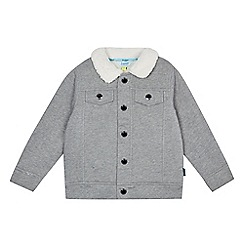 Baker by Ted Baker - Boys' grey Borg lined jacket