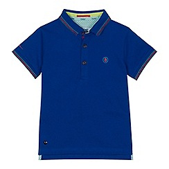 Baker by Ted Baker - Boys' blue tipped polo shirt