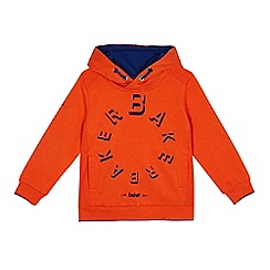 Baker by Ted Baker - Boys' orange logo print hoodie