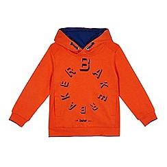Baker by Ted Baker - Boys' orange logo print hoodie