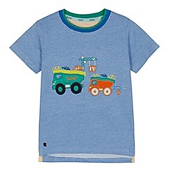 Baker by Ted Baker - Boys' blue vehicle applique t-shirt