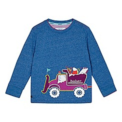 Baker by Ted Baker - Boys' blue truck applique jumper