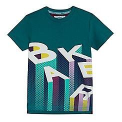 Baker by Ted Baker - Boys' green 'Baker' print t-shirt