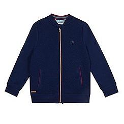 Baker by Ted Baker - Girls' navy quilted bomber