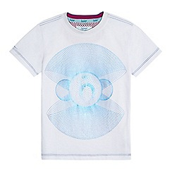 Baker by Ted Baker - Boys' white printed t-shirt