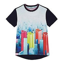 Baker by Ted Baker - Boys' logo city scene print t-shirt
