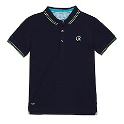 Baker by Ted Baker - Boys' navy tipped polo shirt