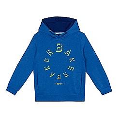 Baker by Ted Baker - Boys' blue logo print hoodie