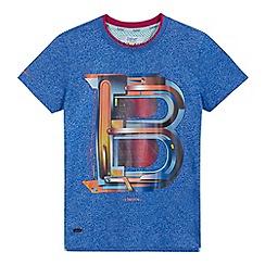 Baker by Ted Baker - Boys' blue 'B' print t-shirt