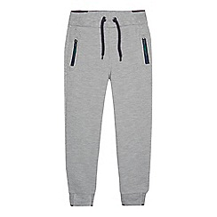 Baker by Ted Baker - Boys' grey ribbed jogging bottoms