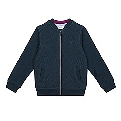 Baker by Ted Baker - Boys' turquoise quilted sweater