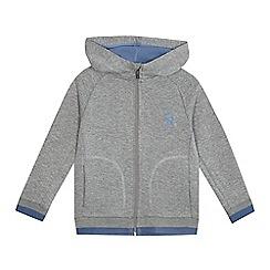 Baker by Ted Baker - Boys' grey zip through hoodie