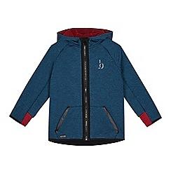 Baker by Ted Baker - Boys' dark turquoise zip through hoodie