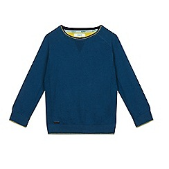 Baker by Ted Baker - Boys' green panel jumper