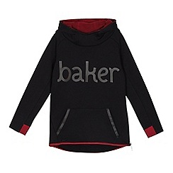 Baker by Ted Baker - Boys' black logo applique hoodie