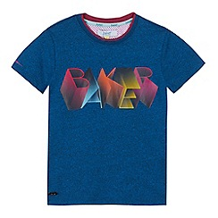 Baker by Ted Baker - Boys' navy logo print t-shirt