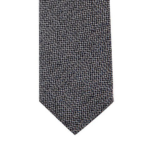 Baker by Ted Baker - Boy+s navy textured skinny tie