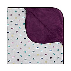 Baker by Ted Baker - Baby boys' multi-coloured digital print blanket
