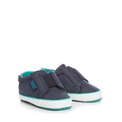 Baker by Ted Baker - Baby boys' navy slip-on trainers