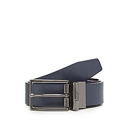 Baker by Ted Baker - Boys' navy reversible belt