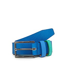 Baker by Ted Baker - Boys' navy croc-effect belt